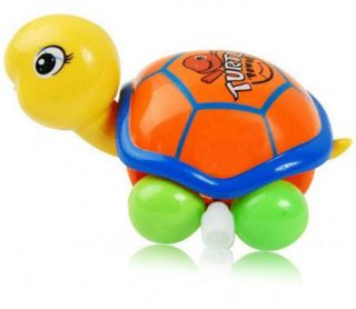 Wind Up Funny Clockwork Lovely Animal Tortoise Toy Gift Kids Children Baby x 1