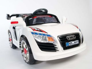 Audi A011 GT Style Kids 12V Electric Power Wheels Ride on Race Car  Remote RC