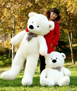 80cm Giant Huge Plush Teddy Bear Stuffed Toy Doll 32""