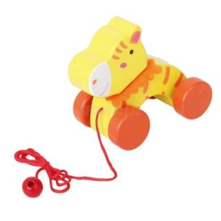 Random Color Cute Design Pull Toy Preschool Kids Educational Funny Toys