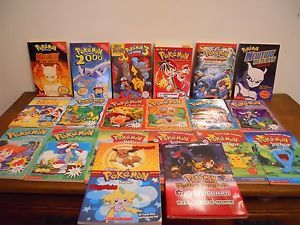 Lot 20 Pokemon Scholastic Jr Series Pikachu Chapter Children Kid Book Nintendo