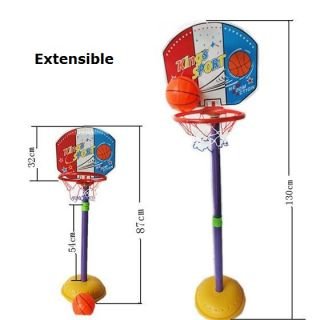 New in Box Children Kids Baby Toys Basketball Hoop Ball Game Stand Set 100cm 2T