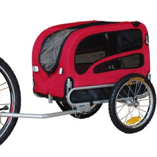 Doggyhut Medium Pet Bike Trailer Jogger Kit Dog Bicycle Carrier Red 7030101