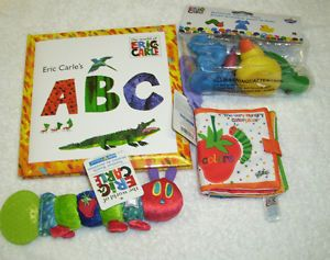 New Eric Carle The Very Hungry Catepillar Toy Gift Set Baby Shower Gift