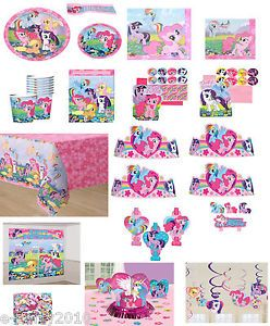 My Little Pony Friendship Is Magic Birthday Party Supplies PICK1 or Create Set