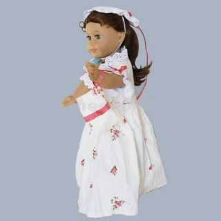 Delicate Wedding Party Casual Dress Gown Clothes for American Girl Doll 18 Inch