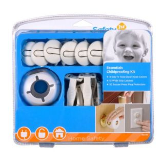 Safety 1st Baby Kids Essentials Childproofing Kit 46 Pieces HS145