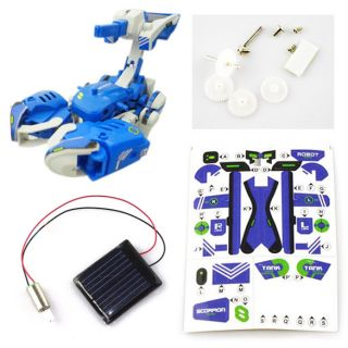 Educational DIY Solar Toy Robot Tank Scorption Kit P1