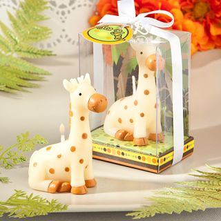 24 Giraffe Candle Favors Baby Shower 1st Birthday Jungle Animal Zoo Theme Cute
