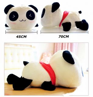2013 Hot Sale SINYO Plush Toy Stuffed Animal Cute Panda Festival Gift 70cm