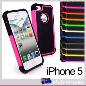 Defender Heavy Duty Case Cover for IPHONE5 iPhone 5 5g 5th Gen Screen Protector