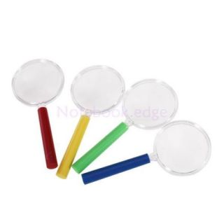5X 4pcs Plastic Mini Magnifier Kids Sized Plant Insect Animal Observed Props Toy