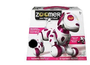 New Girls Zoomie Robot Dog Trick Talk Mehanical Kids Toy Puppy Plays Run Command