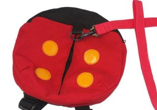 Baby Toddler Safety Harness Ladybug Bag Backpack Strap Anti Lost Walking Wings