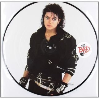 Michael Jackson Bad Picture Disc