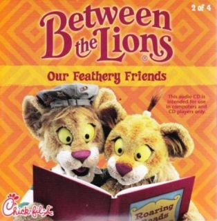 Between The Lions Our Feathery Friends CD Kids Life Learning Stories Music