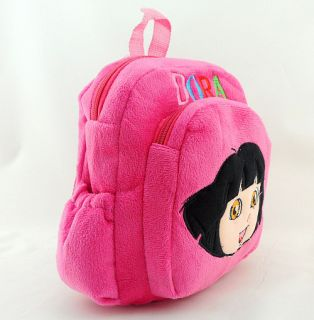 Children's Kindergarten School Bag Plush Backpack Bag Boys Girls Kids Gift Idea