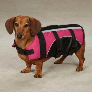 Pet Preserver Life Jacket Pink Guardian Gear Dog Aquatic Flotation Safety Vest