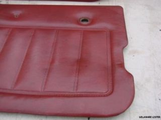 Jeep CJ7 Door Panels