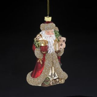 Kurt Adler Santa Ornament