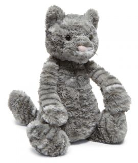 Jellycat Bashful Tabby Kitten Cat Kitty Medium Stuffed Animal Plush