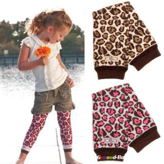 Cute Baby Girl Leg Protect Warm Leggings Socks Zebra Leopard Pattern 30cm