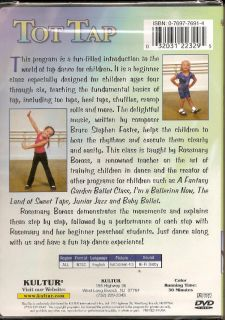 Rosemary Borross Tot Tap Dance Steps Learn Kids Beignners Children's Dancing DVD