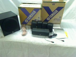 Yamaha NS SP1800BL 5 1 Channel Home Theater Speaker System TADD
