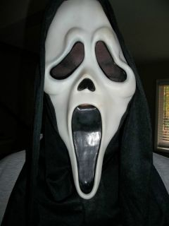 Vintage Original Scream Ghostface Fantastic Faces Halloween Mask Fun World Div