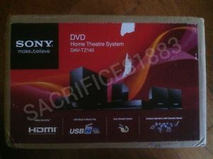 Brand New Sony Dav TZ140 5 1 Channel Home Theater System Factory SEALED