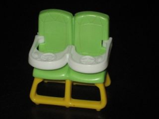 Dora The Explorer Talking Dollhouse Twin Figures Highchair Nursery Furniture