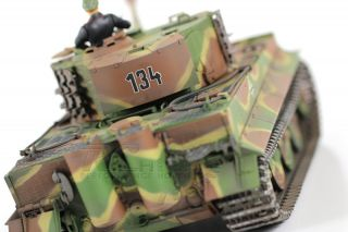 Vs Tank Pro 1 24 Scale German Tiger 1 Late Production Green Camouflage RC Battle
