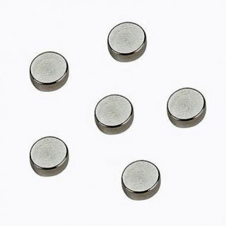 Super Heavy Duty Craft Magnets 8mm Round 8 Pack
