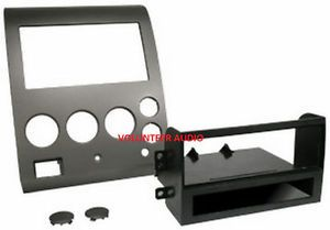 2004 2005 Nissan Titan Armada Single DIN Radio Installation Dash Kit