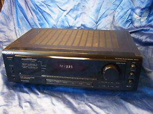 Sony Str 471 Home Theater Receiver Home Audio Surround Sound
