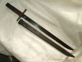 WWII WW2 Japanese Bayonet Arisaka Type 30 99 Late War Toyoda Automation Loom