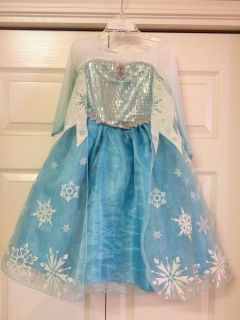 Frozen Princess Elsa Costume Dress Gown Sz 2 3 Sold Out Everywhere