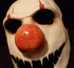 Custom Clown Mask Halloween Masquerade Horror Prop Slipknot