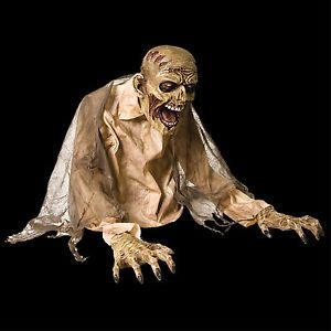 Realistic Animated Zombie Fogger Cover Accessory Halloween Prop Horror Monster G