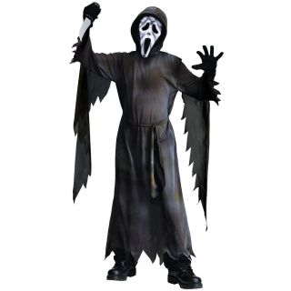 Mummy Ghost Face Kids Preteen Tween Scary Horror Halloween Fancy Dress Costume