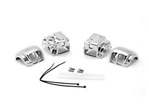 Chrome Switch Housings Cover for 1996 2012 Harley HD Electra Glide Classic FLHTC