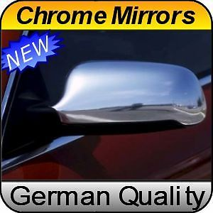 Audi A4 S4 B5 99 01 Chrome Mirror Covers Caps Housings
