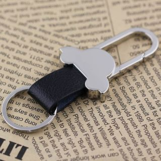 Pants Buckle Beetle Car Keyring Keychain Leather Key Chain Ring Clip Belt 84018
