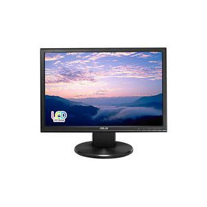 "Asus VW199T P 19 inch 19"" Widescreen 5ms VGA DVI LED TFT LCD Monitor w Speakers 610839350759"