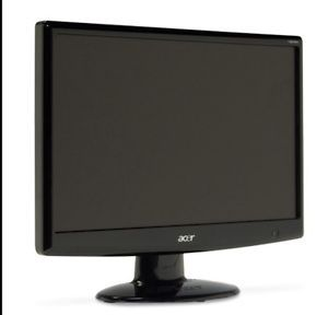 "Acer H203H 20"" Widescreen LCD Monitor with Built in Speakers"
