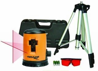 Johnson Level Tool Self Leveling Cross Line Laser Kit Tripod Saftey Glasses 40 0