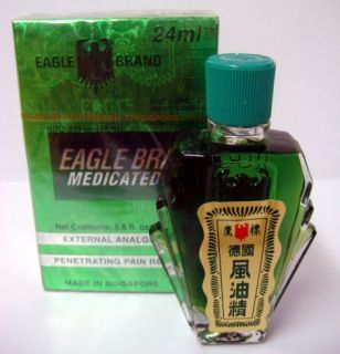 Eagle Brand Medicated Oil Pain Relief Dau Xanh Con O
