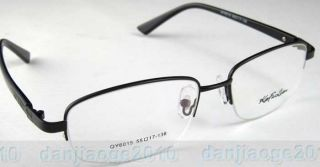 Gold Black Gun Metal Light Men Glasses Frame Half Rimless Eyeglass Spectacles