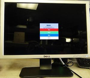 "Dell S199WFP Computer Monitor 19"" LCD Flat Screen"