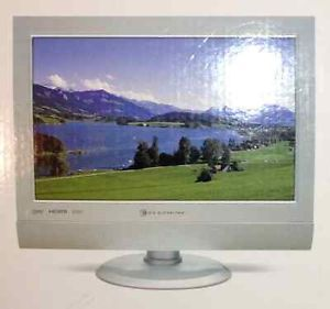 "Element FLX 1910 19"" 1080i LCD Wide Screen HDTV Computer Monitor Combo"
